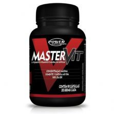 Master Vit - 90 Cápsulas - Power Supplements