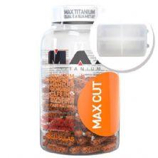 Max Cut - 60 Capsulas + Porta Cápsulas transparente - Max Titanium