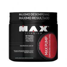 Max Pump - 240g Frutas Vermelhas - Max Titanium