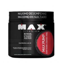Max Pump - 240g Fruit Punch - Max Titanium