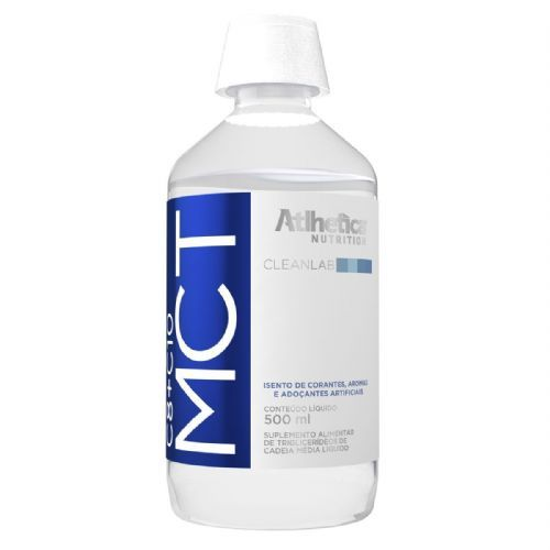 MCT C8+C10 - 500ml - Atlhetica Nutrition no Atacado