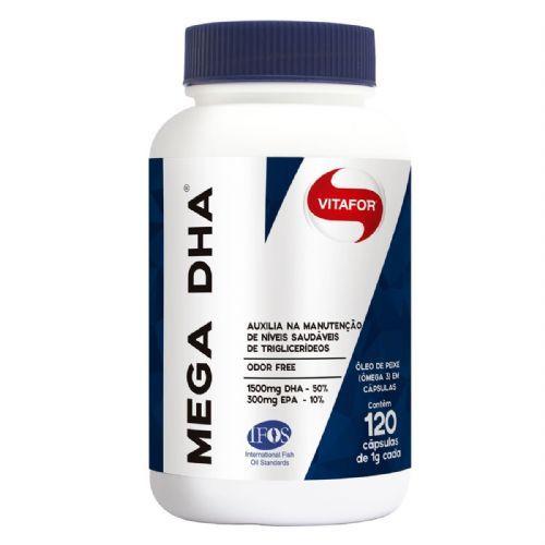 Mega Dha - 120 Cápsulas - Vitafor no Atacado