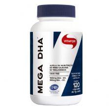Mega Dha - 120 Cápsulas - Vitafor