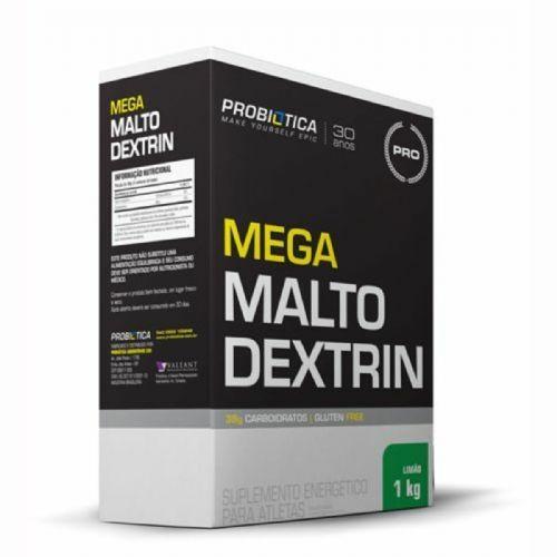Mega Maltodextrin - 1 Kg Limão - Probiótica no Atacado
