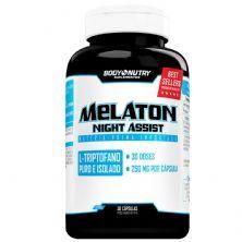 Melaton Night Assist - 30 Cápsulas - Body Nutry