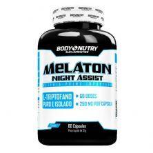 Melaton Night Assist - 60 Cápsulas - Body Nutry