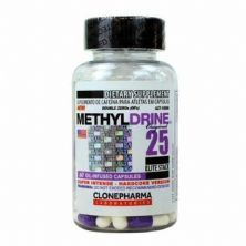 Methyldrine - 60 Cápsulas - Clone Pharma