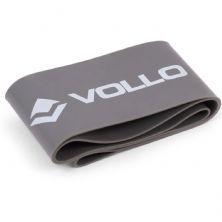 Mini Faixa de Exercício 5cm - Nível Forte Cinza - Vollo Sports