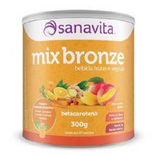 Mix Bronze - 300g Frutas e Vegetais Amarelos - Sanavita