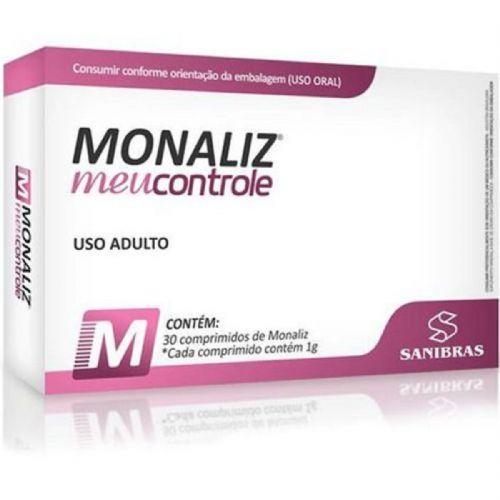 Monaliz Meu controle - 30 Comprimidos - Sanibras no Atacado