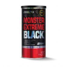 Monster Extreme Black New Power Formula - 22 Packs - Probiótica*** Data Venc. 28/02/2019