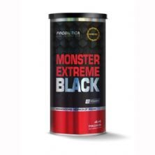 Monster Extreme Black New Power Formula - 44 Packs - Probiótica