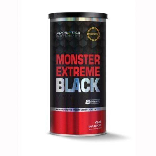 Monster Extreme Black New Power Formula - 44 Packs - Probiótica no Atacado