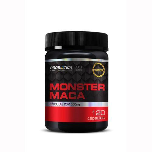 Monster Maca - Maca Peruana - 120 Caps - Probiotica