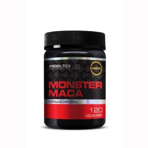 Monster Maca Peruana - 120 Cápsulas - Probiotica no Atacado