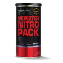 Monster Nitro Pack - 44 Packs - Nova Formula - Probiótica