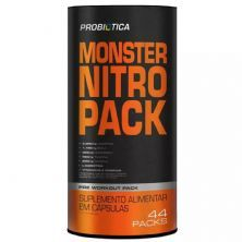Monster Nitro Pack - 44 Packs - Probiótica*** Data Venc. 17/11/2020
