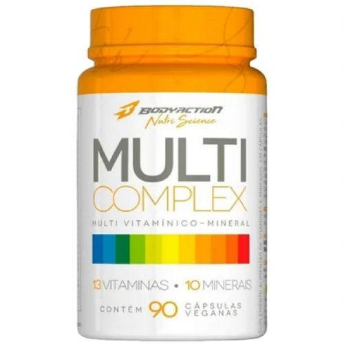 Multi Complex - 90 Cápsulas - BodyAction no Atacado