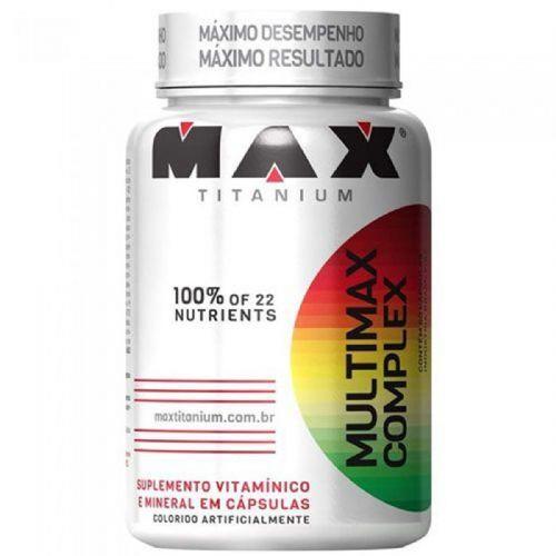 Multimax Complex - 90 Cápsulas - Max Titanium no Atacado
