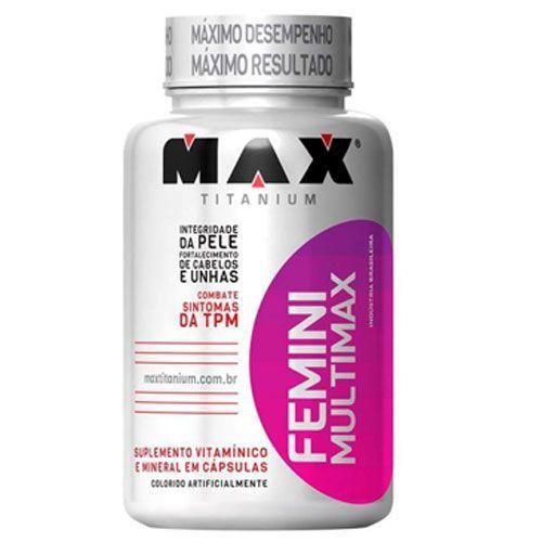 Multimax Femme - 60 cápsulas - Max Titanium*** Data Venc. 30/03/2018