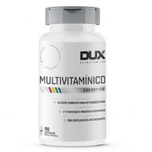 Multivitamínico Esportivo - 90 Cápsulas Softgel - Dux Nutrition