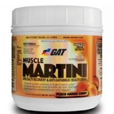 Muscle Martini - Peach Mango Candy 365g - GAT
