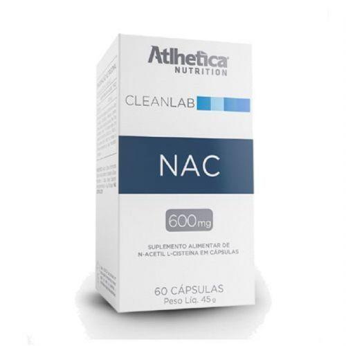 NAC 600mg - 60 Cápsulas - Atlhetica Nutrition no Atacado