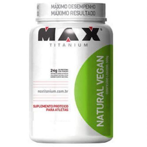 Natural Vegan - 500g Baunilha - Max Titanium no Atacado