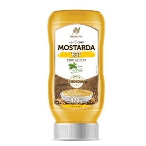 Neochef Mostarda Fit - 420g - NeoNutri