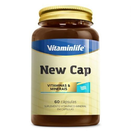 New Cap Hair - 60 Comprimidos - VitaminLife no Atacado