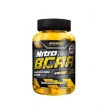 Nitro BCAA - 100 Cápsulas - NitroMuscle