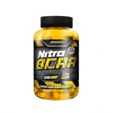 Nitro BCAA - 200 Cápsulas - NitroMuscle