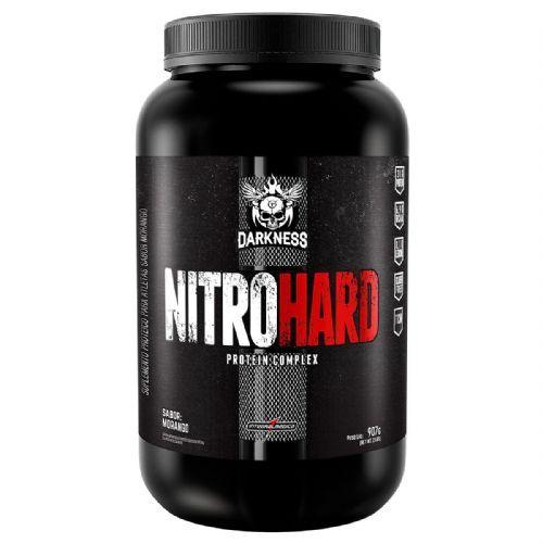 Nitro Hard Darkness - 907g Morango - IntegralMédica no Atacado