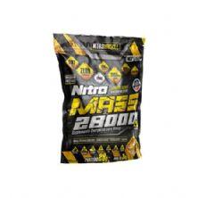 Nitro Mass 28000 - 3000g Morango - NitroMuscle