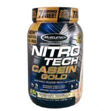 Nitro Tech Casein Gold - 1130g Creamy Vanilla - Muscletech
