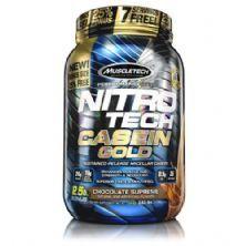 Nitro Tech Casein Gold - 1150g Chocolate Supreme - Muscletech