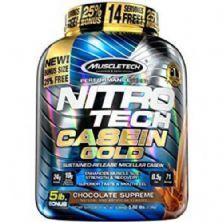 Nitro Tech Casein Gold - 2270g Chocolate Supreme - Muscletech