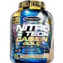 Nitro Tech Casein Gold - 2270g Creamy Vanilla - Muscletech