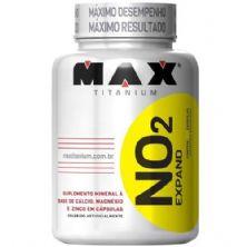 NO2 - 90 cápsulas - Max Titanium
