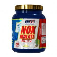 Nox Malate 1:1 Ratio - 200g Orange Flavor - One Pharma Supplements*** Data Venc. 30/10/2020