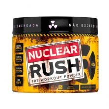 Nuclear Rush Pre Workut Powder - 100g Guaraná - BodyAction