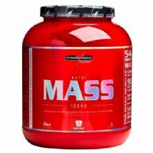 Nutri Mass 15000 - Chocolate 3000g - Integralmédica
