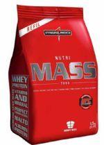Nutri Mass 7000 Refil - Morango 1500g - Integralmédica