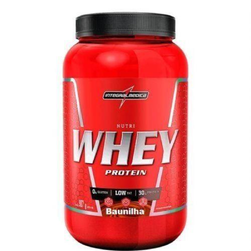 Nutri Whey Protein - 907g Baunilha - IntegralMédica no Atacado