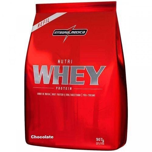 Nutri Whey Protein - 907g Refil Chocolate - IntegralMédica