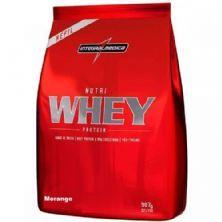 Nutri Whey Protein - 907g Refil Morango - IntegralMédica