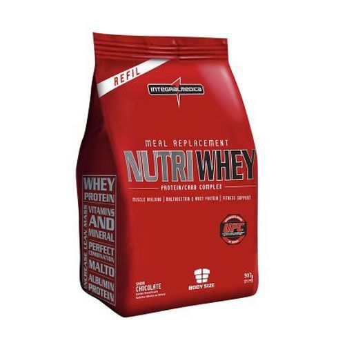 Nutri Whey Protein - Refil - Chocolate 907g - Integralmédica