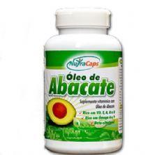 Óleo de Abacate - 120 Cápsulas - NutraCaps