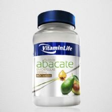 Óleo de Abacate - 60 cápsulas 1000mg - VitaminLafe