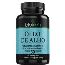 Óleo de Alho - 60 Cápsulas - Bioklein